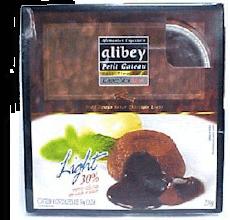 Petit Gateau De Chocolate Light Alibey 200 g