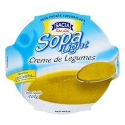 Sopa Creme De Legumes Sacia 450 g