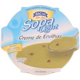 Sopa Creme De Ervilhas Light Sacia 450 g