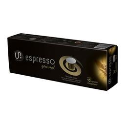 Café Utam Uno Gourmet Cápsulas Compatíveis Nespresso 10 Und