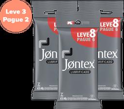 Jontex Preservativo Lubrificado Leve8 Pague6
