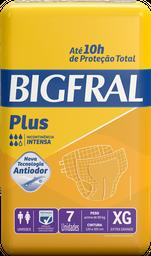 Fralda Geriátrica Bigfral Plus XG - 7 Unds