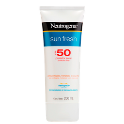 Protetor Solar Neutrogena Sun Fresh Fps 50 200 mL
