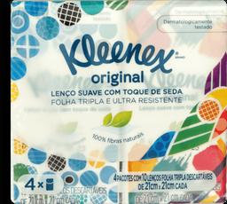 Bolso Kleenex CLASSIC 40un - 4 pcts de 10