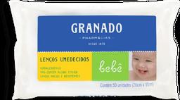 Lenços Umedecidos Granado Bebe Tradicional 50 Und