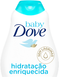 Shampoo Dove Baby Hidratante Enriquecida 400 mL