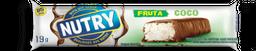 Barra De Frutas Nutry Sabor Coco Com Chocolate 19 g