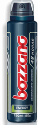 Desodorante Bozzano Energy Aerossol 150 mL
