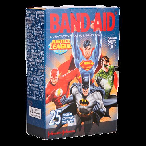 Band Aid Curativo Decorado Liga Da Justiça