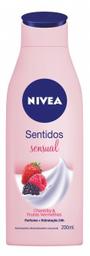 Creme Hidratante Nivea Sentidos Sensual 200 mL