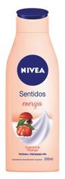 Creme Hidratante Nivea Sentidos Energia 200 mL