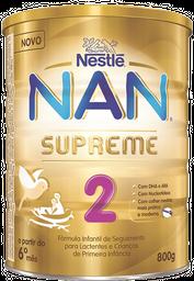 Fórmula Infantil Nan Supreme 2 800 g