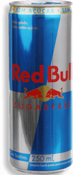 Energético Red Bull Sugar Free 250mL