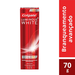 Creme Dental Colgate Luminous White Expert 70g