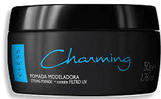 Pomada Modeladora Charming Black 50g