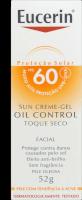 Protetor Solar Facial Oil Control FPS60 Toque Seco Eucerin 52g