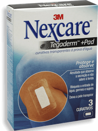 Nexcare Curativo Tegaderm Com Pad 3 Und