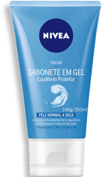 Gel Suave de Limpeza Facial Nivea Visage Normal / Mista 150mL