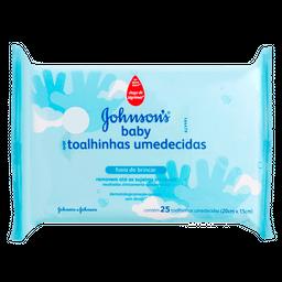 Lenços Umedecidos Johnson Baby Hora De Brincar Com 25 Und