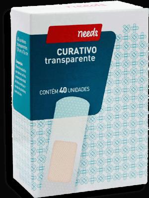 Curativos Transparentes Needs 40 Unds