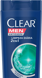 20% em 2 Unid Shampoo Clear Men Anti Caspa