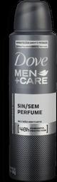 Desodorante Aerosol Dove Men Care Sem Perfume 48h 150mL