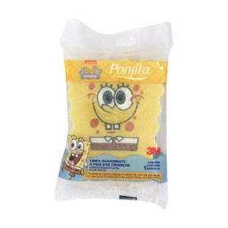 Esponja para Banho Ponjita Kids Bob Esponja 1 Und