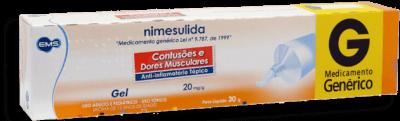 Nimesulida 20mg EMS 30g Gel