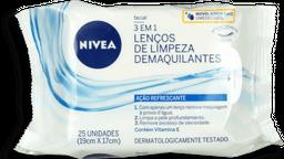 Demaquilante Nivea Visage Limpeza De Pele 25 Und
