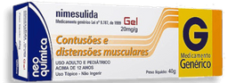Nimesulida 20 mg 40 g