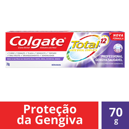 Creme Dental Colgate Total 12 Professional Gengiva Saudável 70g