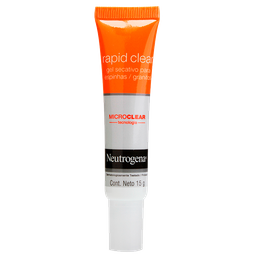 Gel Secativo Neutrogena Rapid Clear Facial p/Pele Acneica 15 mL