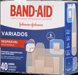 Curativos Band Aid Variados 40 Unds
