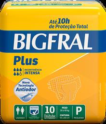 Fralda Geriátrica Bigfral Plus P - 10 Unds