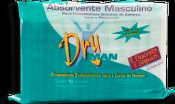 Absorvente Geriátrico Masculino Dryman 10 Unds