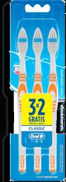 Escova Dental Oral B Classic Macia N°40 3 U
