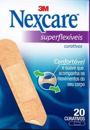 Curativo Nexcare Superflexivel Com 20 Und