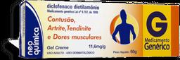 Diclofenaco Dietlamonio Gel 60 g Generico Ne Quimica