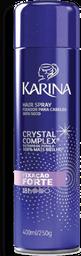 Spray Fixador Karina Cabelos c Fixação Forte 400 mL