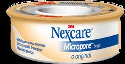 Compre 2 Ganhe 10% Nexcare Fita Micropore Bege 12Mmx4,5M
