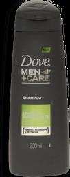 Shampoo Dove Men Care Limpeza Refrescante 200mL