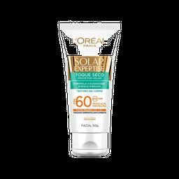 Protetor Solar Facial com Toque Seco FPS 60 de L'Oréal Paris 50g