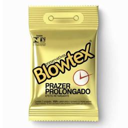 Preservativo Blowtex Retardante com 03 unidades