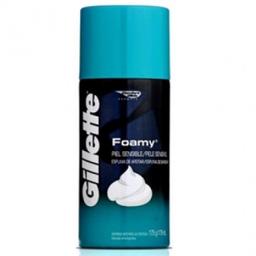 Espuma De Barbear Gillette Foamy Para Pele Sensível 175 g