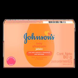Sabonete Barra Glicerinado JOHNSON'S® Baby 80g
