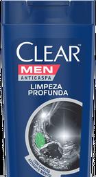 Shampoo Clear Men Anticaspa Limpeza Profunda 200mL