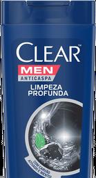 Shampoo Clear Limpeza Profunda Men 400 mL
