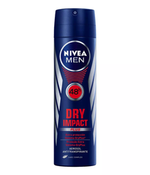 Desodorante Nivea Aerossol 150 mL Dry For Men