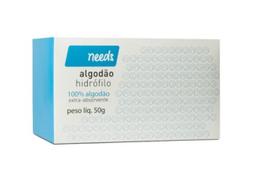 Compre 3 Ganhe 25% Algodão Hidrófilo Needs 50 g