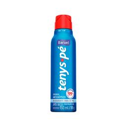 Desodorante Tenys Pé Baruel Tradicional Seco Aerosol 86 g